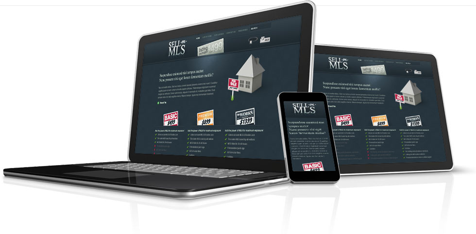 sell-on-mls site design - beyondesign