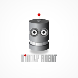 Kindly Robot logo by beyondesign