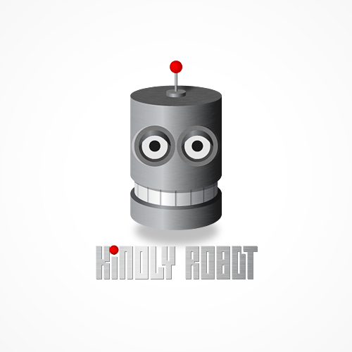 Kindly Robot logo by beyondesign